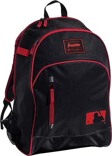 Franklin Sports MLB Batpack Bag - Youth Baseball, Softball and Teeball Bag - Equipment Bag For Sports - Bag Holds Bat...