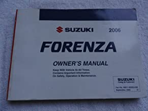 2006 suzuki forenza owners manual