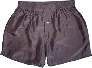 """Men's Boxer Shorts (30""""-42"""") – Hot, Spicy Silk Colors – Washable"""