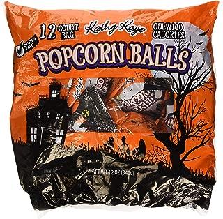 12 Count Bag Popcorn Balls Sweet & Salty Halloween Treat 12 oz (Pack of 2)