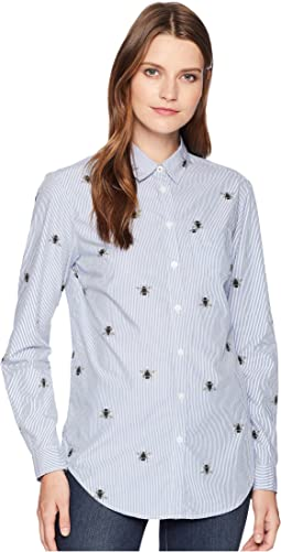 Lucie Printed Classic Fit Shirt