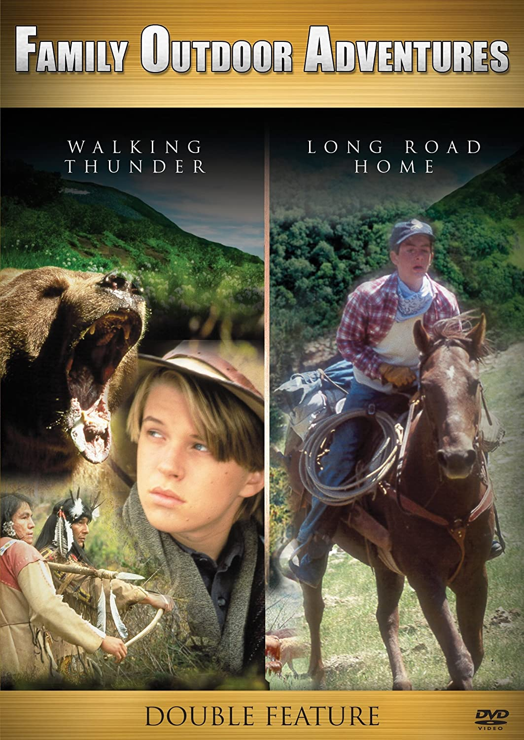 Walking Thunder/long Road Home double-feature