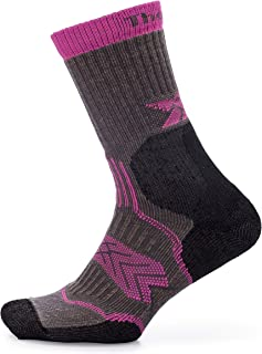 thorlos unisex-adult OFXU Outdoor Fanatic Crew Socks Hiking Socks