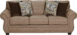 Simmons Upholstery Emory Brownstone Sofa