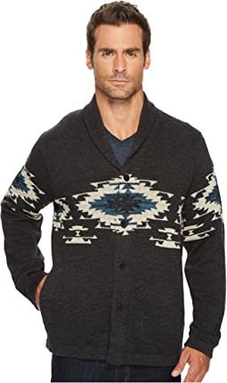 Lucky Brand - Canyon Creek Shawl Sweater