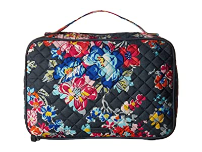 Vera Bradley Iconic Large Blush Brush Case (Pretty Posies) Wallet