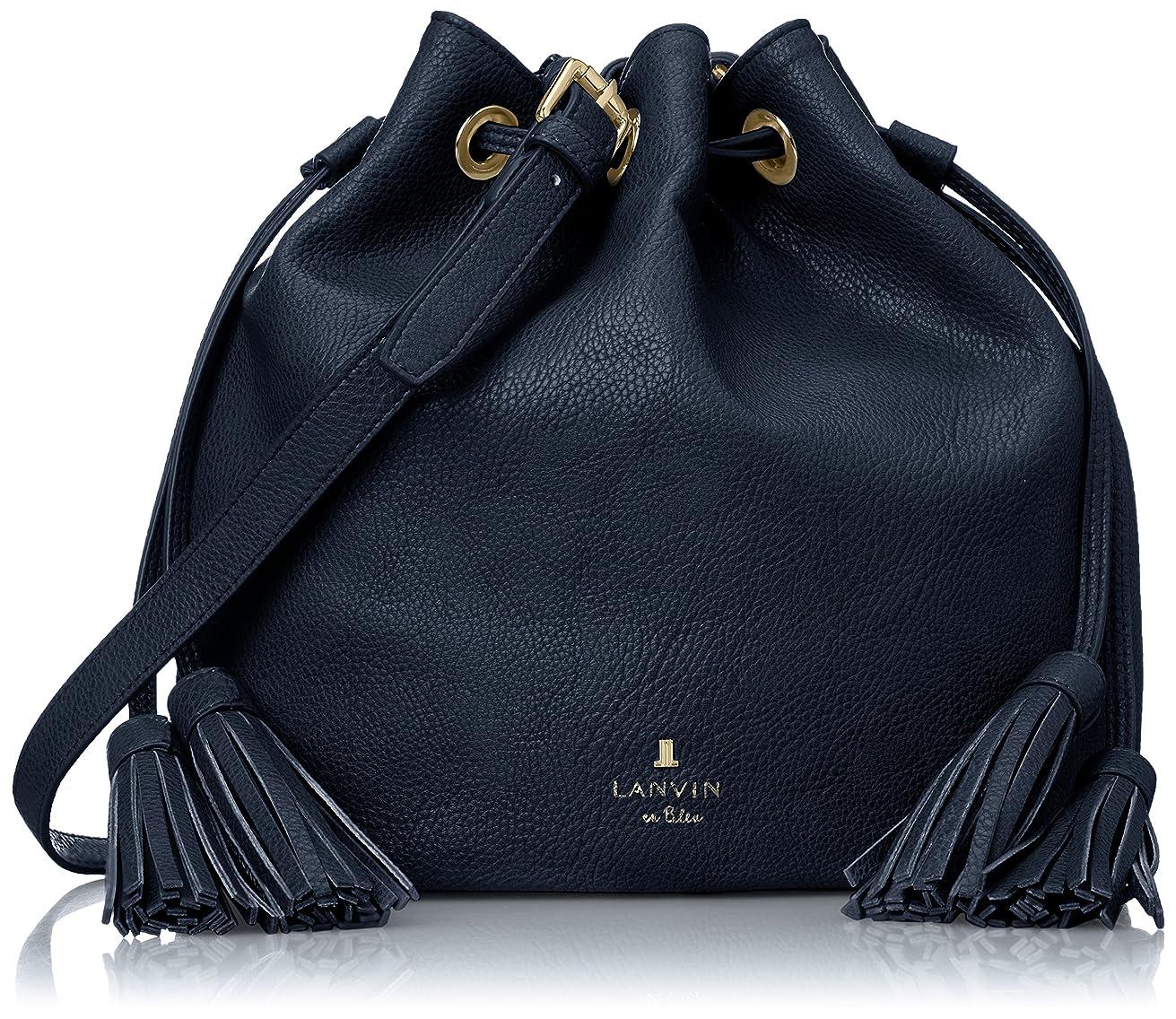 保険メンテナンス奨学金[ランバンオンブルー] LANVIN en Bleu Amazon公式 正規品 ピレネー 巾着バッグ