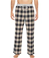 Softest Vintage  Melange Buffalo Check Flannel Pants