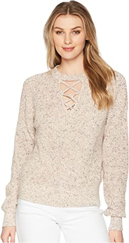 Cross Front Pullover