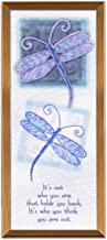 Cathedral Art GP232 Dragonflies Copper Expression Plaque, 3 by 7-Inch