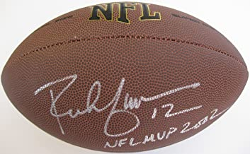 Rich Gannon, Oakland Raiders, Signed, Autographed, NFL Football, a COA with the Proof Photo of Rich Signing Will Be Included