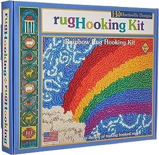 Harrisville Designs Rainbow Rug Hooking Kit