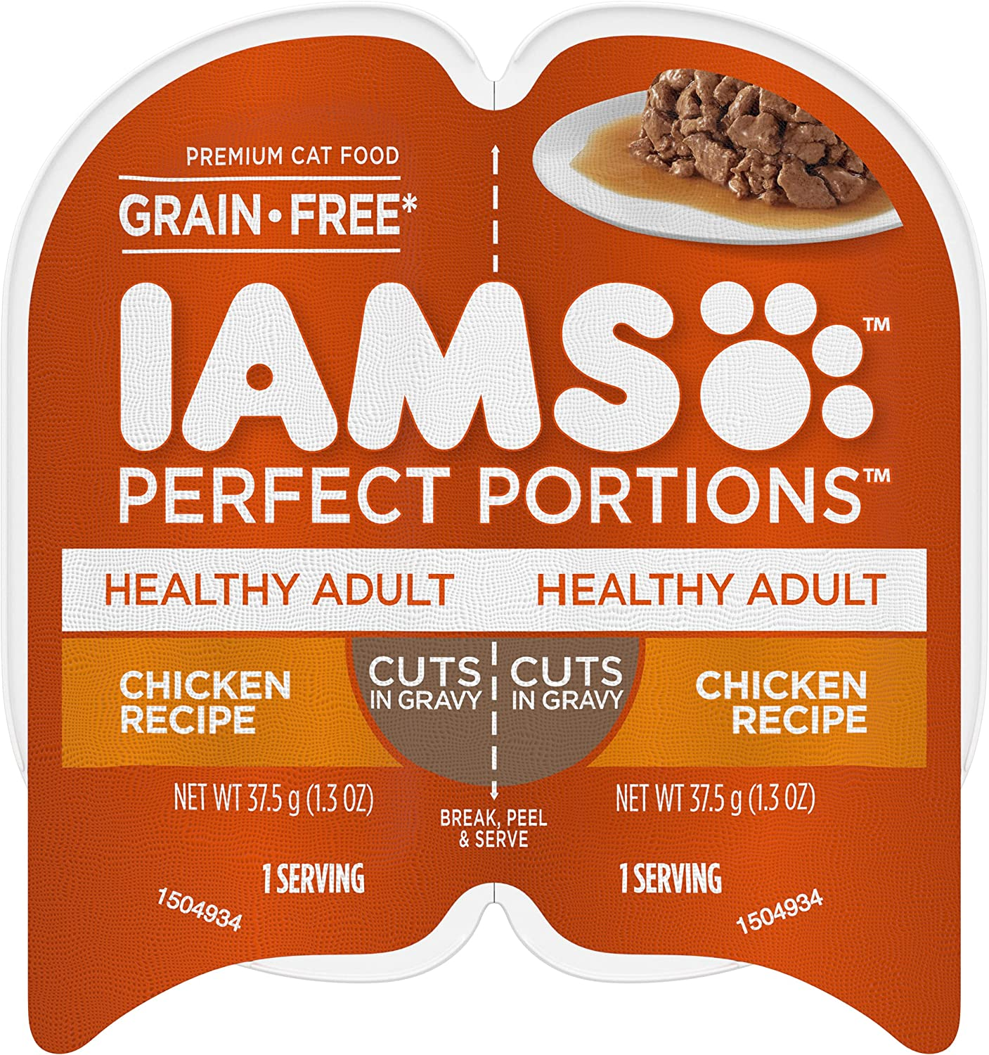 New Orleans Mall IAMS Perfect Over item handling Portions Healthy Grain Free Wet Twin Food Cat 24