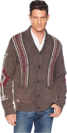 Navajo Cardigan Sweater