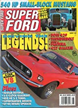 Super Ford August 1992 Magazine DRIVING THE LEGENDS: BOSS 429 THUNDERBOLD GROUP 5 PANTERA .427 GALAXIE