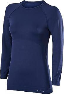 FALKE Women Maximum Warm Comfort Fit Long Sleeve Shirt - Sports Performance Fabric