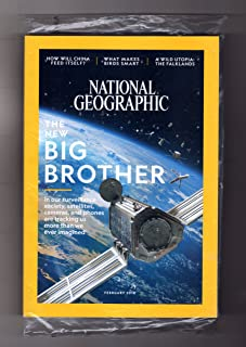 National Geographic Magazine (February, 2018) The Big Brother