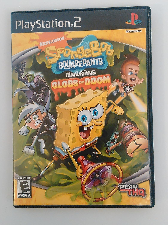 Amazon.com: SpongeBob SquarePants featuring NickToons: Globs of Doom -  PlayStation 2 : Artist Not Provided: Video Games