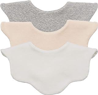 AVAUMA Baby Girl Boy Unisex Fabric Drooling Feeding Bibs Spring Summer Polka Dot