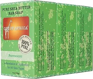 Out of Africa Shea Butter Bar Soap, Peppermint, 12 Ounce