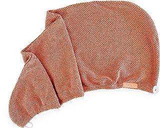 AQUIS Copper Sure Quick Dry Hair Wrap, microfibra, ultra absorbente, tecnología de toalla limpia