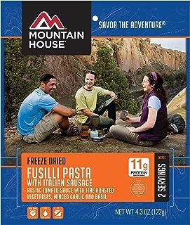 Mountain House Fusilli Pasta with Italian Sausage