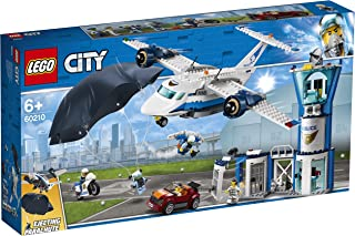 Lego 6251696 Lego City Lego City Luchtpolitie Luchtmachtbasis - 60210, Multicolor