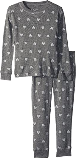 Wild Hearts Thermal Two-Piece Jammies (Toddler/Little Kids/Big Kids)