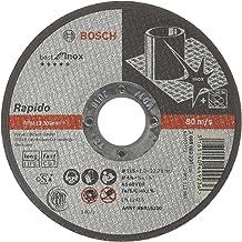 Bosch - 115*1, 0 mm Best Serisi Düz Inox (Paslanmaz Çelik) Kesme Diski - Rapido Uzun Ömürlü, Gri, 1 Adet