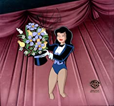 Batman The Animated Series Zatanna Production Animation Cel from Warner Brothers 1993 306