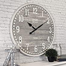 """FirsTime & Co. 25708 20 """"ساعت دیواری آریو خاکستری ، نور"""