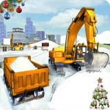 City Snow Excavator Simulator Machine