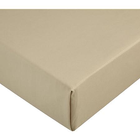 Amazon Basics AB Microfiber, Microfibre Polyester, Olive, 160 x 200 x 30 cm