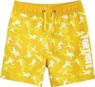 Fortnite Bañador Niño, Pantalones Cortos Niño con Estampado Camuflaje, Bermudas Niño para Playa Piscina, Bañadores Niño de...