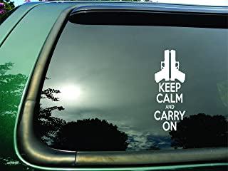 One 5.5 Inch Decal MKS0876 More Shiz Calm You Shall Keep and Carry On You Must Vinyl Decal Sticker Car Truck Van SUV Window Wall Cup Laptop