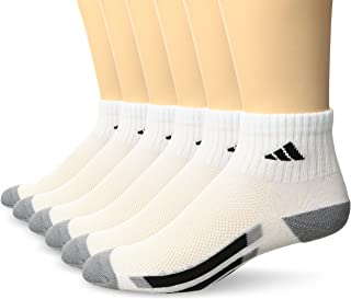 adidas Kids' - Boys/Girls Cushioned Quarter Socks (6-Pair)