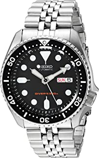 Men's Black Boy automatic diver's watch SKX007K2