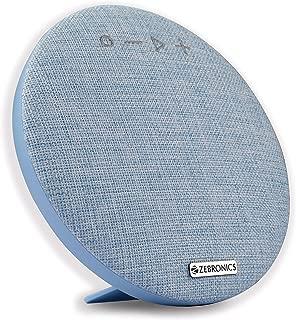 Zebronics Zeb-Maestro Portable BT Speaker with Dual Drives, mSD, USB, FM, AUX, Mic & Fabric Finish (Blue)