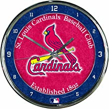 WinCraft MLB Chrome Clock, 12