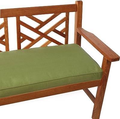 Amazoncom Mozaic Sabrina Corded Indooroutdoor Bench Cushion 60