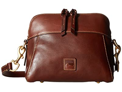 Dooney & Bourke Florentine Classic Cameron Crossbody (Chestnut/Self Trim) Cross Body Handbags