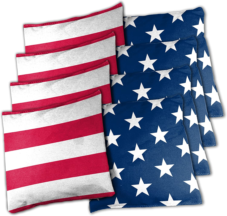 Wild Sports lowest price Stars and Albuquerque Mall Bean Stripes Bags Cornhole