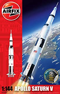 Airfix A11170 1:144 Scale Nasa Apollo Saturn V Rocket Model Kit