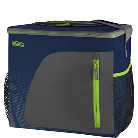 Thermos 148885 Radiance Cooler, Navy, 36 Can/30 L, Fabric, Can