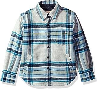 Joules Boys' Ronan Fleece Lined Shirt Jacket