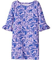 UPF 50+ Mini Sophie Ruffle Dress (Toddler/Little Kids/Big Kids)