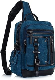 Leaper Messenger Bag Sling Bag Outdoor Cross Body Bag Shoulder Bag Dark Blue