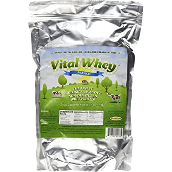 Well Wisdom Proteins Vital Whey Natural, 2.5 Pound