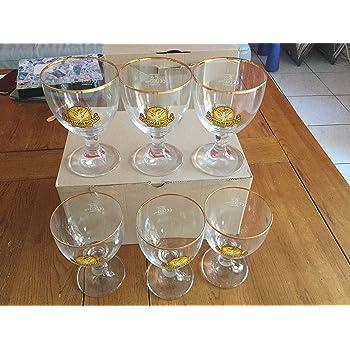 25cl NEUFS en carton. 6 verres Grimbergen nouveau modèle