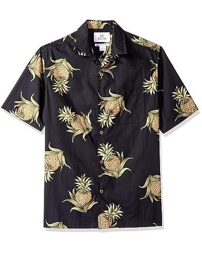 61102b31 Black Hawaiian Men's Shirts: Amazon.com